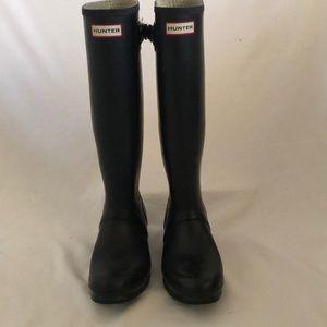 Hunter Original Tall Black Boots